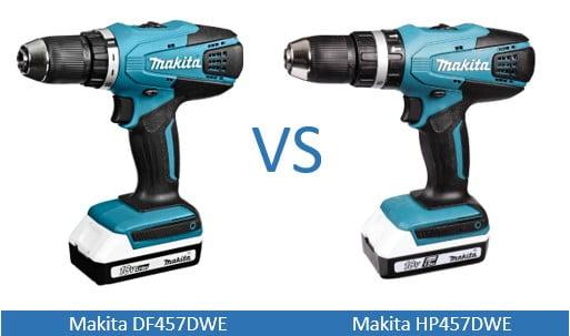 makita df457dwe vs makita hp457dwe