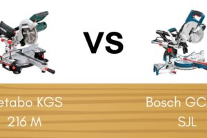 Metabo KGS 216 M vs Bosch GCM 8 SJL: Wat zijn de verschillen?